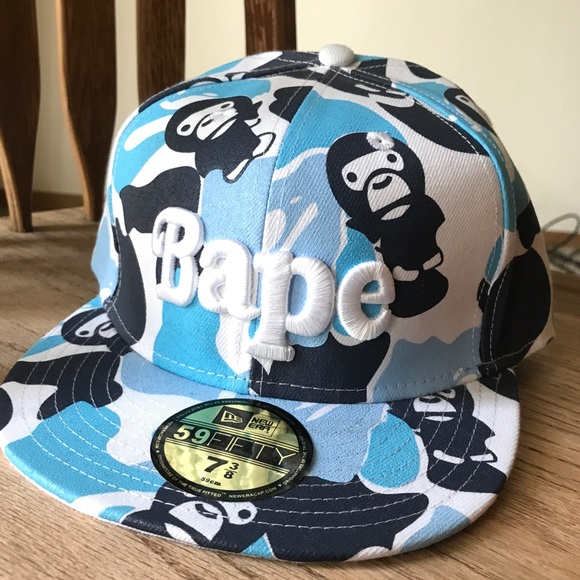Bape Other - Vintage Bape x New Era Fitted Hat ac86ae0a9876